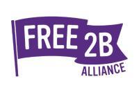 Free2B Logo