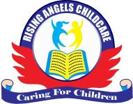 Rising Angels Childcare Logo