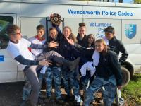 Wandsworth VPC winning a trophy at one of our annual competitions