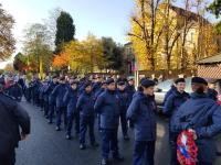 Wandsworth VPC doing our March on Rememberance Sunday