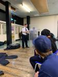 Wandsworth VPC practicing with Police Riot Shields