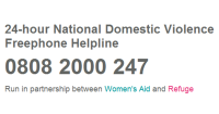 24-hour National Domestic Violence Freephone Helpline