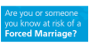 Forced Marriage – Leaflet