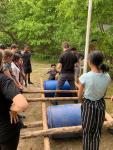 Wandsworth VPC completing team building excersises