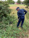 Wandsworth VPC helping with Weapon Sweeps around the Borough