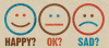 Happy OK Sad logo