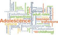 Adolescence wordcloud