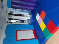 Our brand new sensory room :)