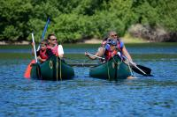 Photograph of canoeing activity