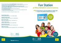 Fun station front