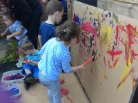 Image of children painting