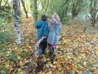Outdoor learning every day.