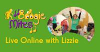 Boogie Mites Live Online With Lizzie
