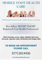 Ben Jeffery - Mobile Foot Health Care