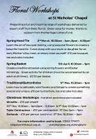 Floral Workshops at St. Nicholas