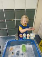 water play in preschool