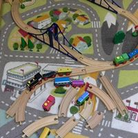 Small World Area - Trains and Track