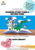 Spanish Story Time and Rhyme Time