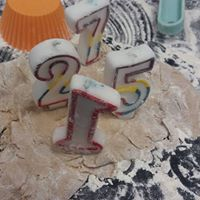 Maths - Playdough/Cake Making/Number Candles