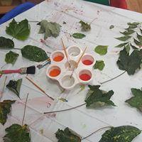 Creative - Leaf Printing
