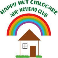 Justine Brown (Happy Hut Childcare and Holiday Club) Logo