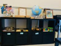 Practical Life, Sensorial & Maths Shelves