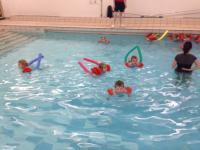 Preschool swimming lessons