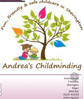 Andrea Heyes Childminder Logo