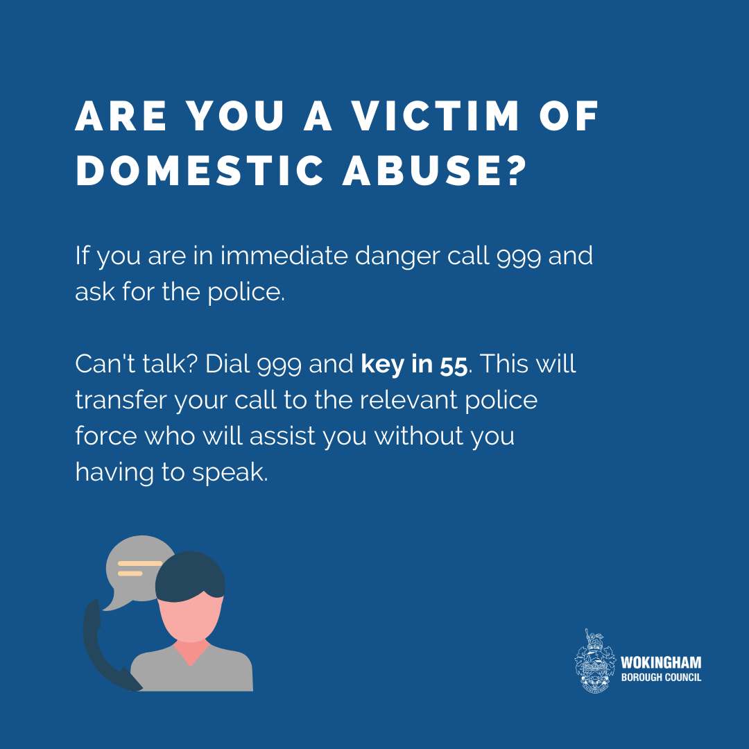 Are you a victim of domestic abuse