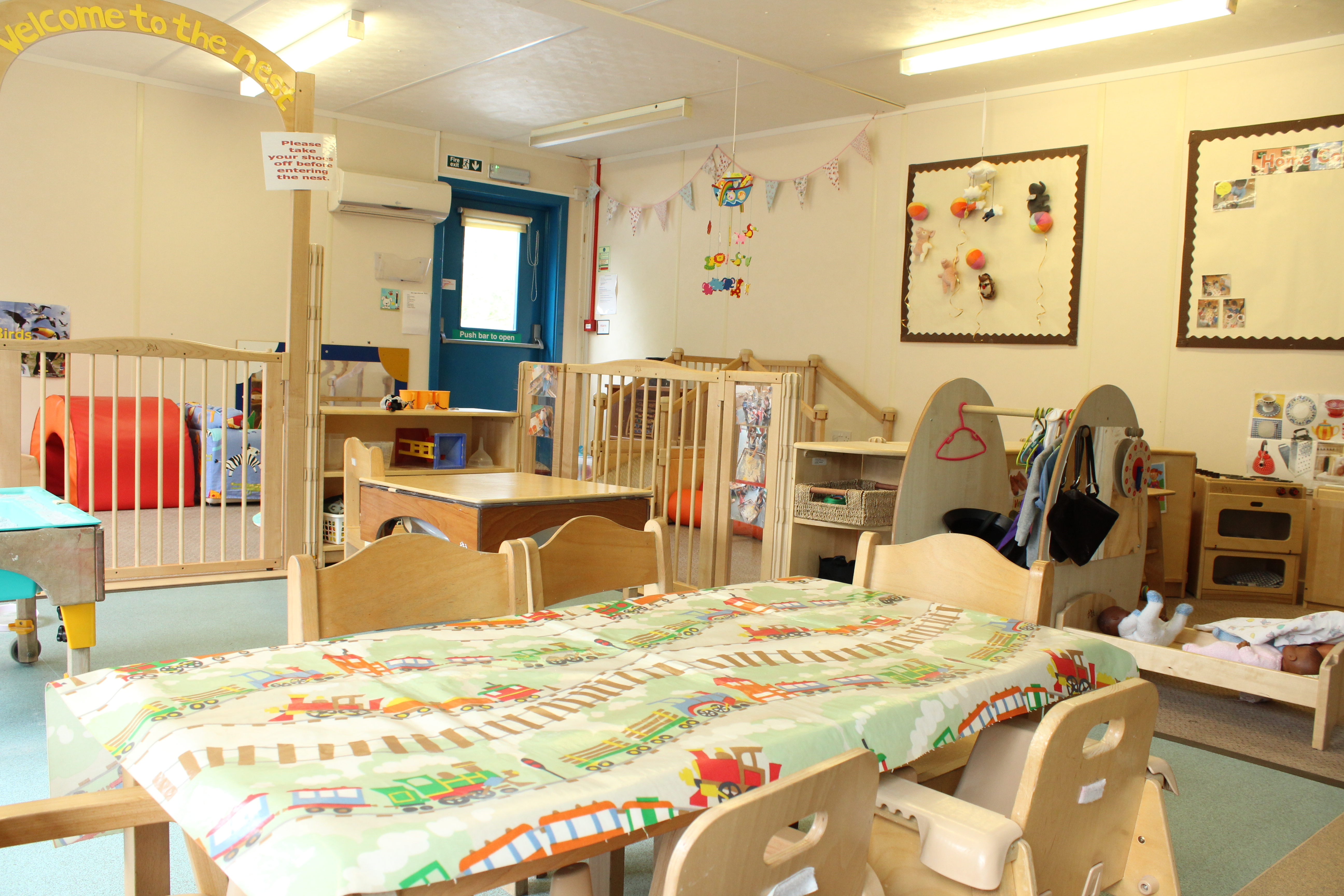 Photo of inside the nursery