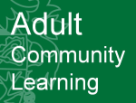 Adult community Learning Logo