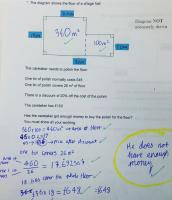 Year 9 maths problem solving question