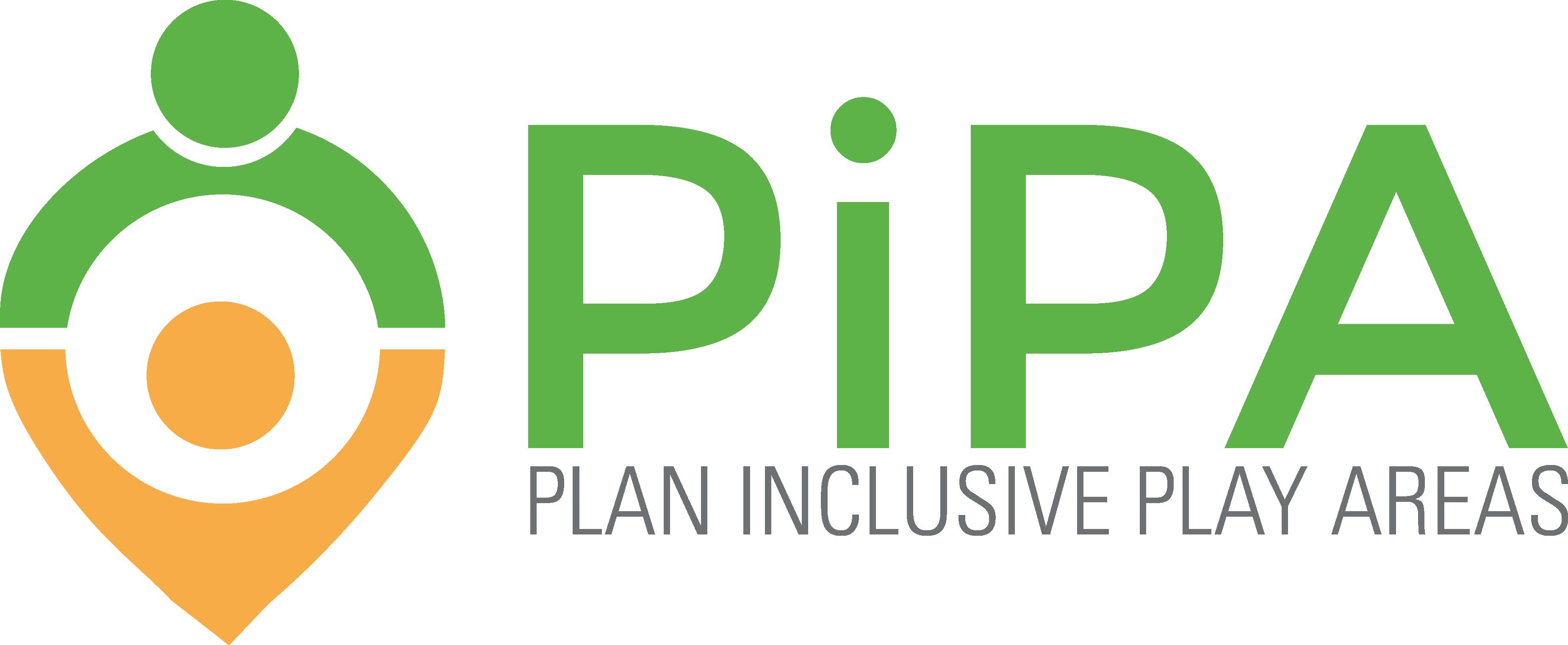 PiPA plan inclusive play areas logo
