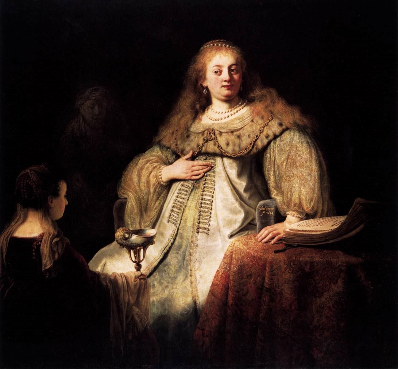 Rembrandt's Masterpieces