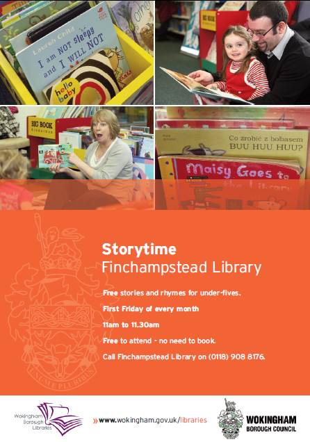 Storytime at Finchampstead Library