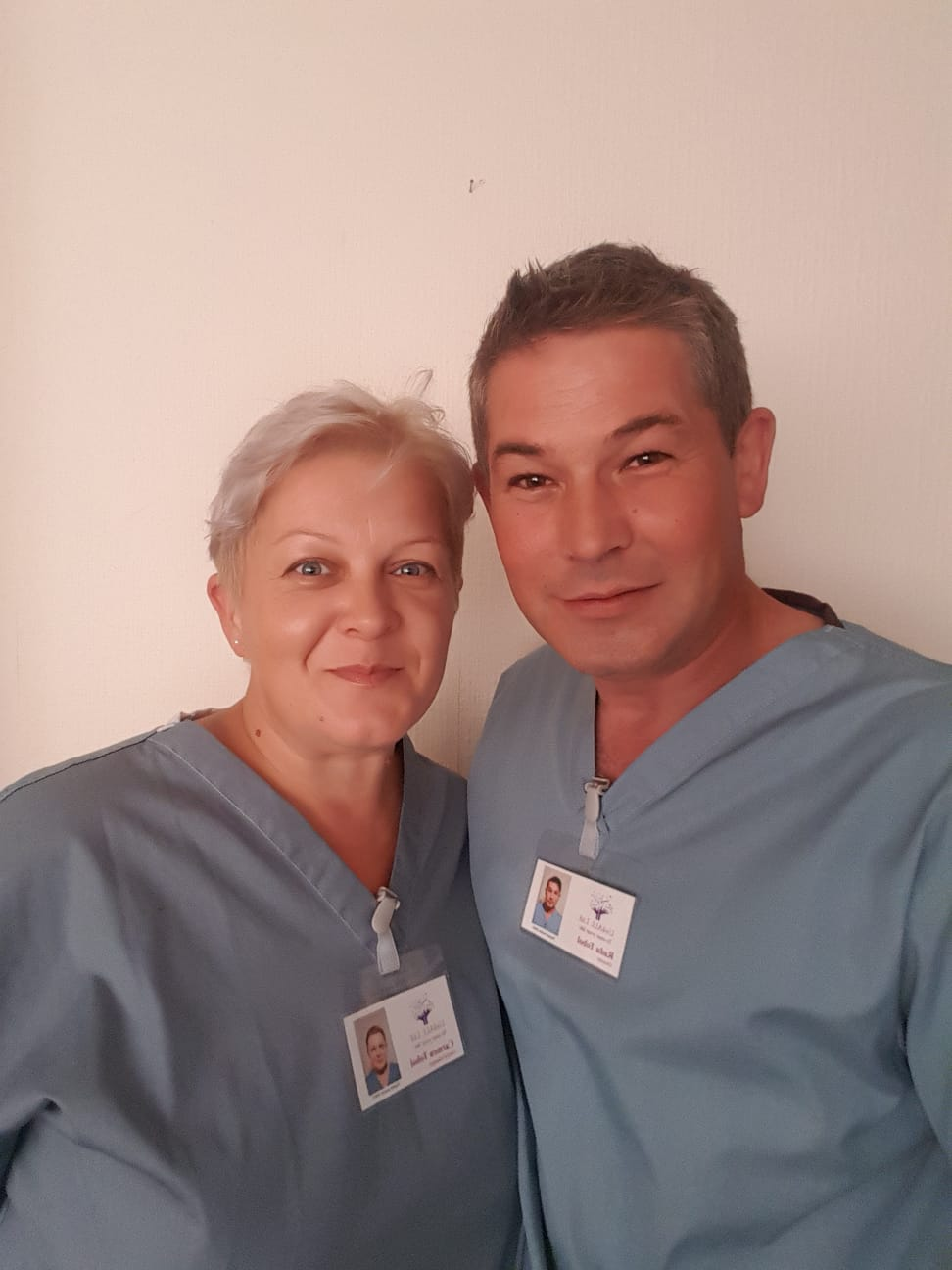 Photo of Radu and Carmen Tobol