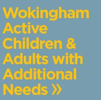Wokingham Active children and adults with additional needs logo