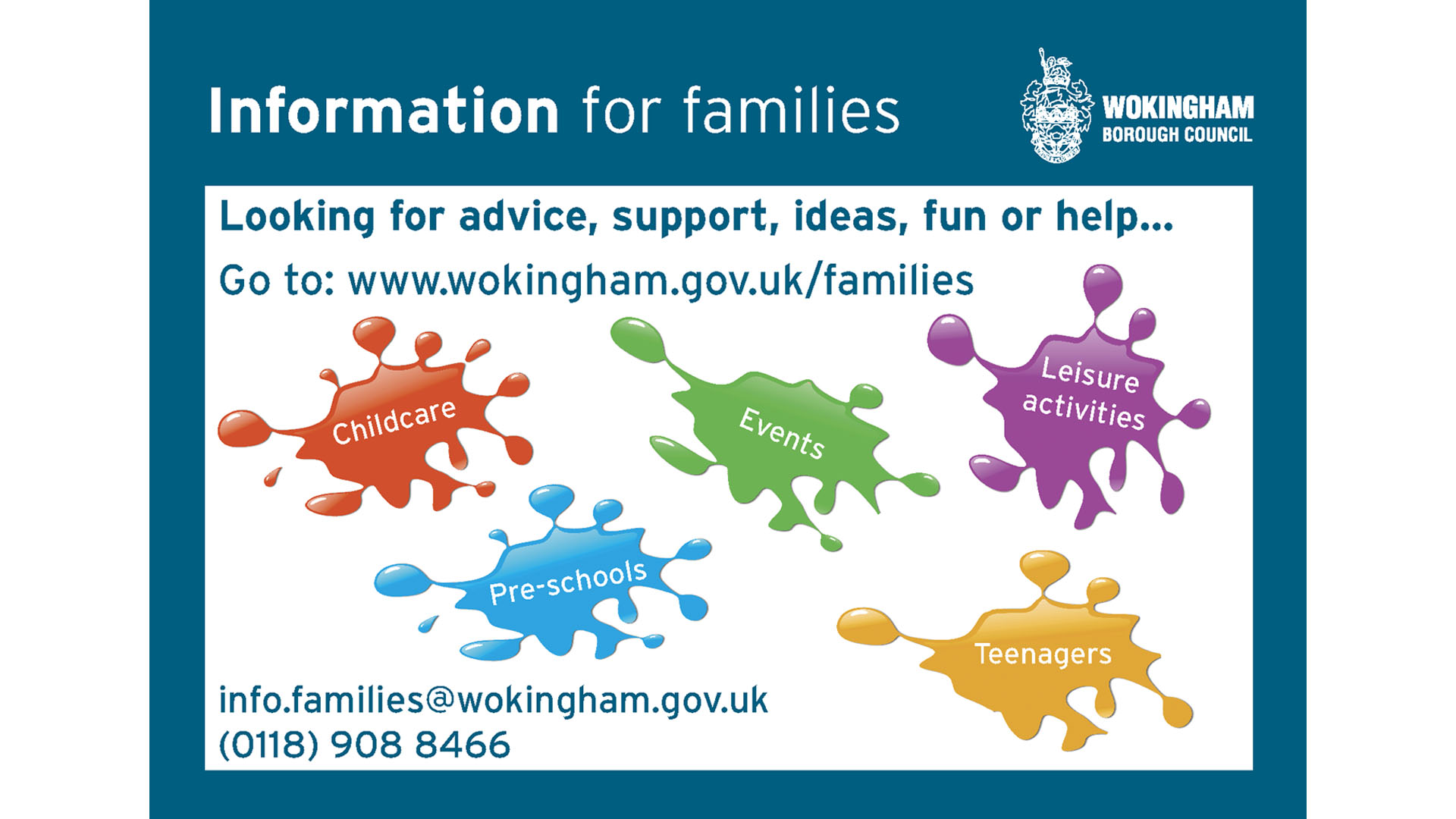 Family Information Service | Wokingham Directory