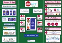 Stoptober health board