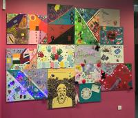 #BigLinkUp art project at The Way Youth Zone