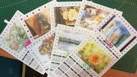 Calendars created by people aged 4 to 92 at Mossley Community Arts Club