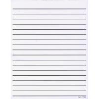 Bold lined exercise books