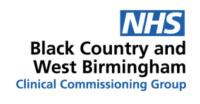 Black Country and West Birmingham CCG.