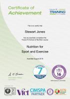 Sport Nutrition Cert