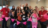 RAW with Zebra Access at Bob Jones Community Hub, celebrating 25 years of Lottery Community Fund